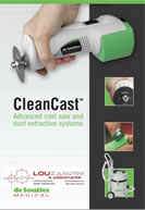 De Soutter Medical Cast Saw Catalog 2009